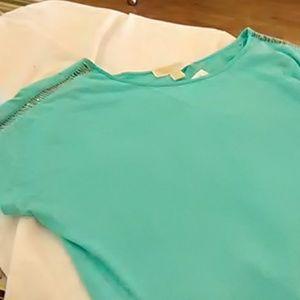 Cute  Michael Kors turquoise shirt